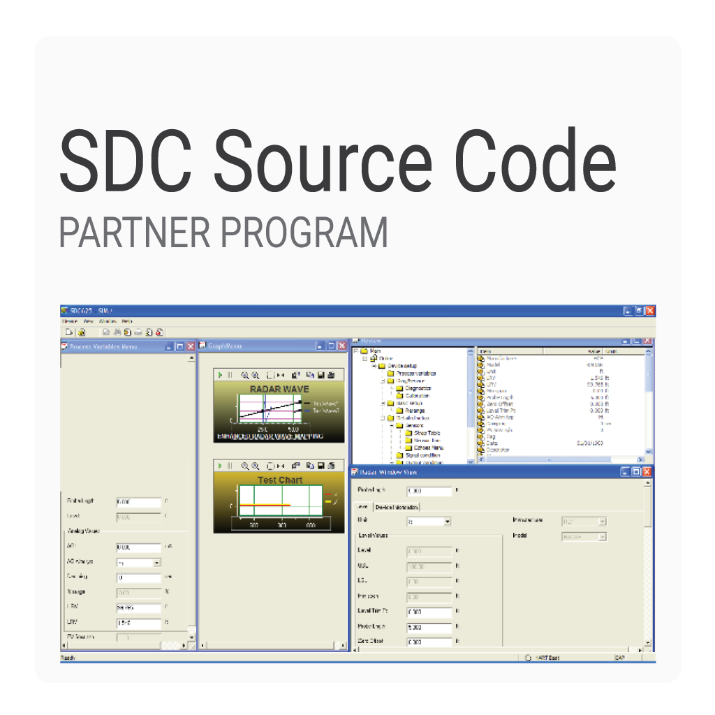 HART Smart Device Configurator (625) Source Code Partner Program