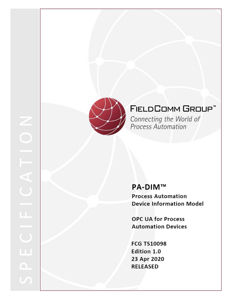PA-DIM™ Technical Specifications