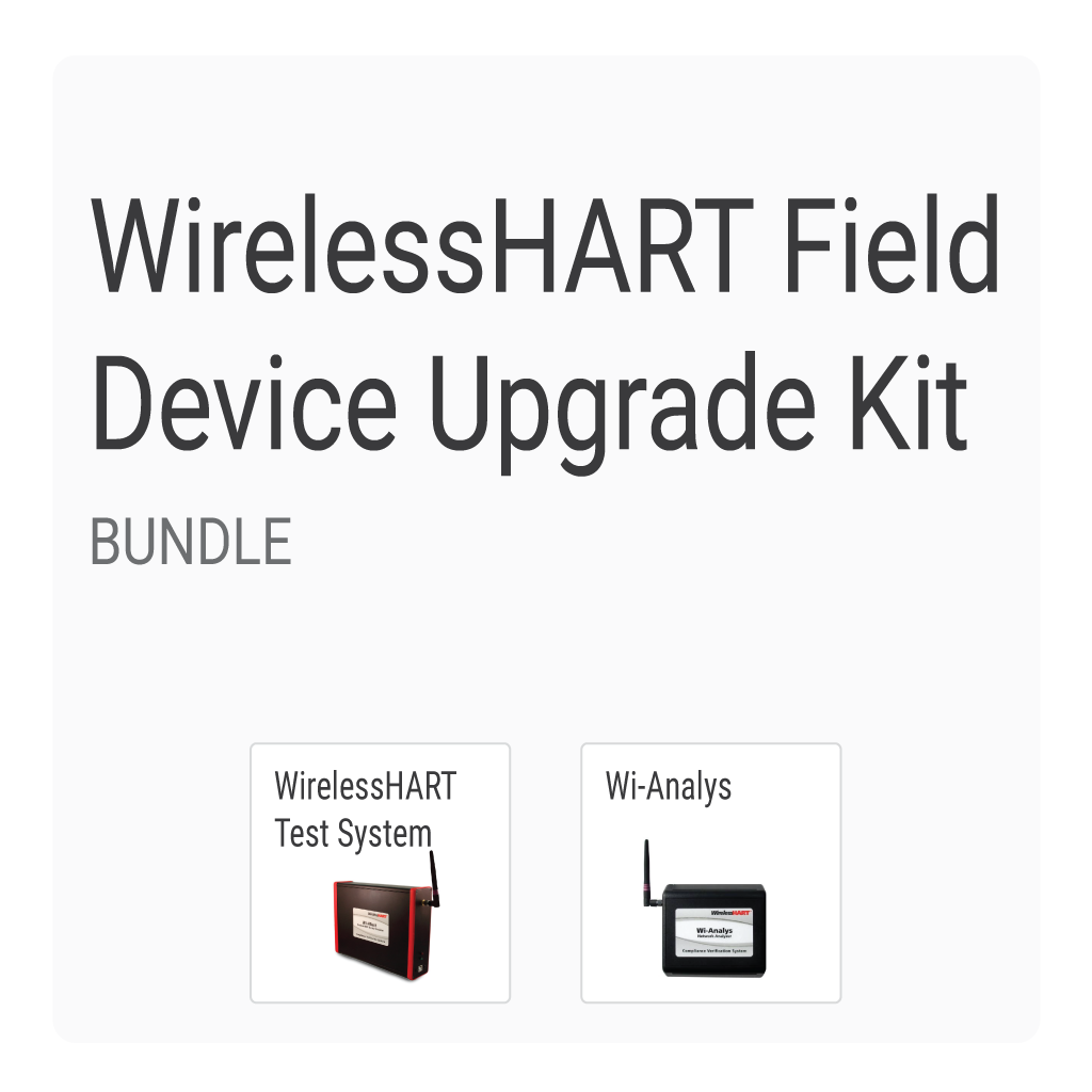 WirelessHART Field Device Upgrade Kit (Bundle)