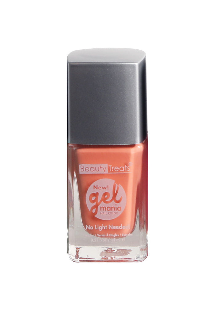 Pastels Gel Mania Nail Color, Coral Bliss