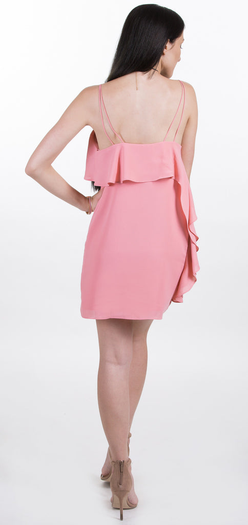Soft Pink Ruffle Dress
