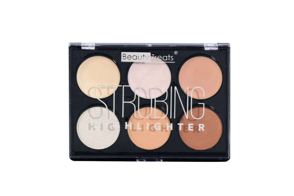 Beauty Treats Strobing Hightlighter Palette, Light