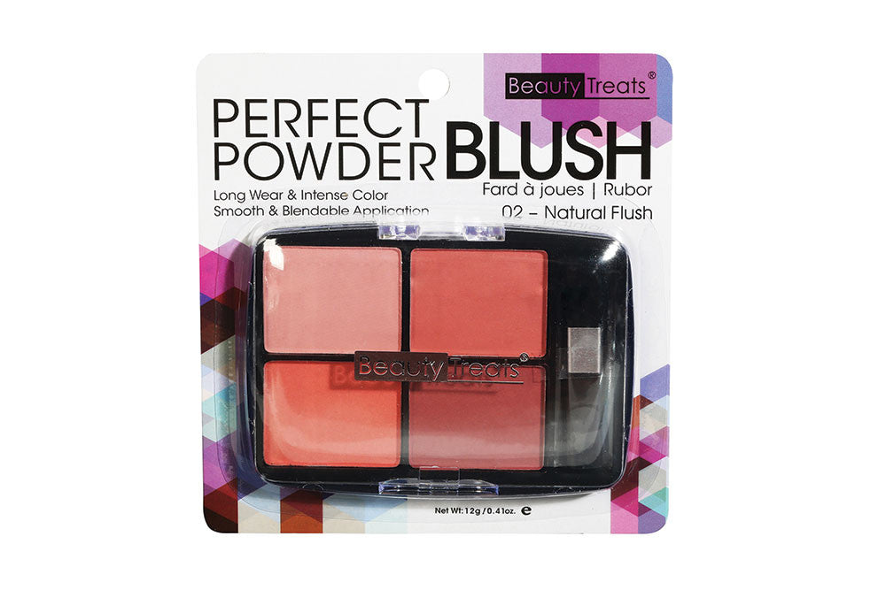 Beauty Treats Blush Perfect Powder Palette, Natural Flush
