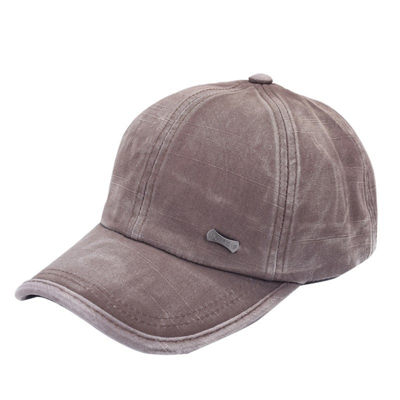 Classic Adjustable Baseball Sport Cap, Brown