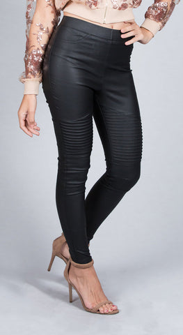 Flared Pants With Stripe Pattern