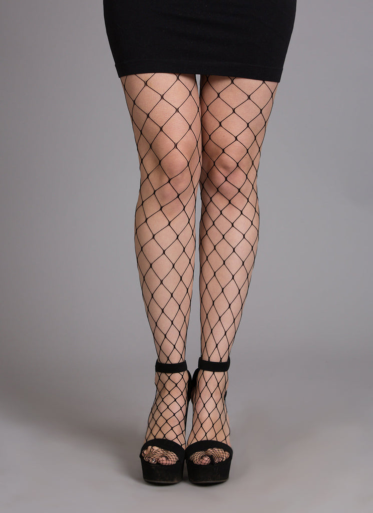 Full Length Fishnet Stockings