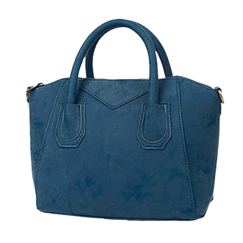 Beautiful Spacious Crossbody Handbag, Blue