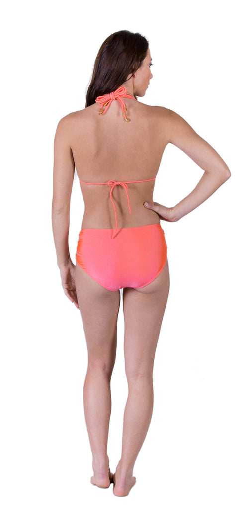 2 Straps Halter Swimsuit Set