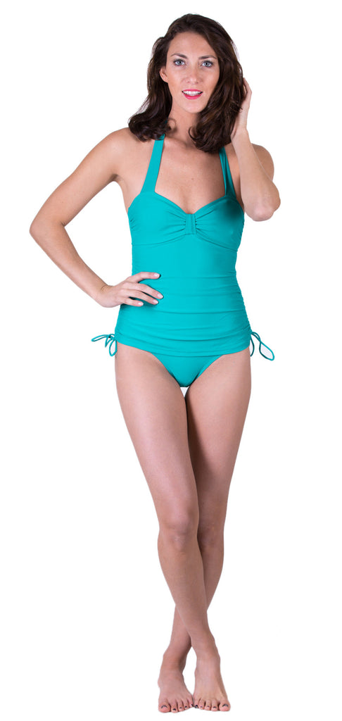 Vintage Inspired Swimsuit, Jade