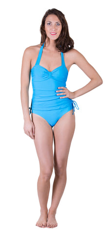 Denim Wash 2 Piece Swimsuit