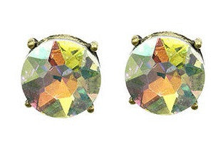 Homaica Stone Earrings, Multicolor