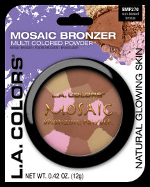 L.A. Colors Mosaic Bronzer, Sunkissed