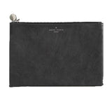 PU Leather Fashion Clutch Bag, Gray