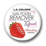 Polish Remover Pads For Nails, Strawberry