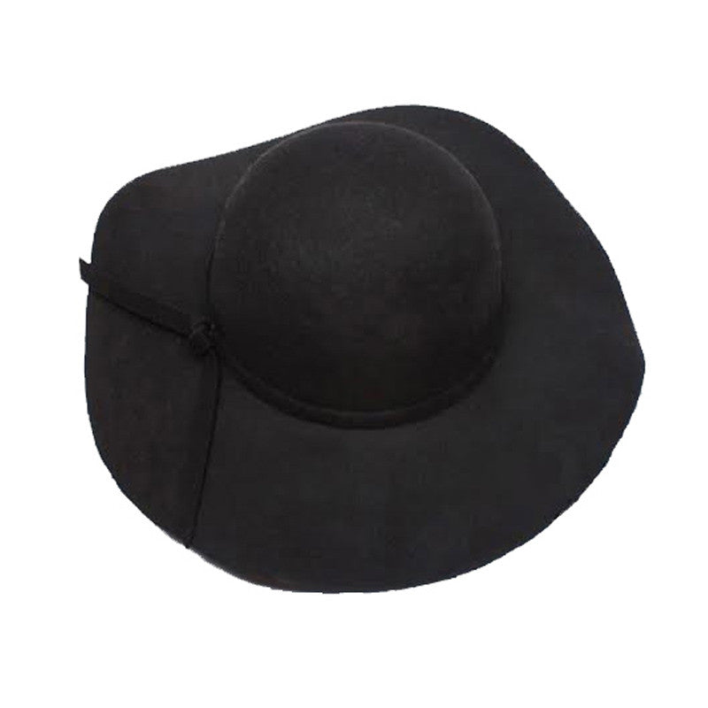 Vintage Fashion Bowknot Hat, Black
