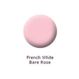 Set of 2 French Manicure Polishes, French White/Bare Rose