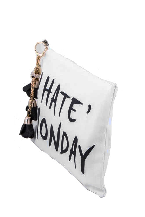 The Monday Blues Clutch Bag