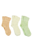 Cute Pastel Anklet Socks, Mint