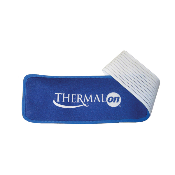 Thermalon Cold-Heat First Aid Wrap. Gel-free pad provides cold therapy from the freezer and heat therapy from the microwave. Natural pain relief pad.