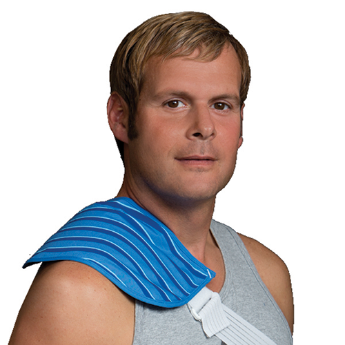 Thermalon First Aid Wrap for effective cold therapy treatments.  Easy to apply. Non gel technology. Shoulder pain relief.