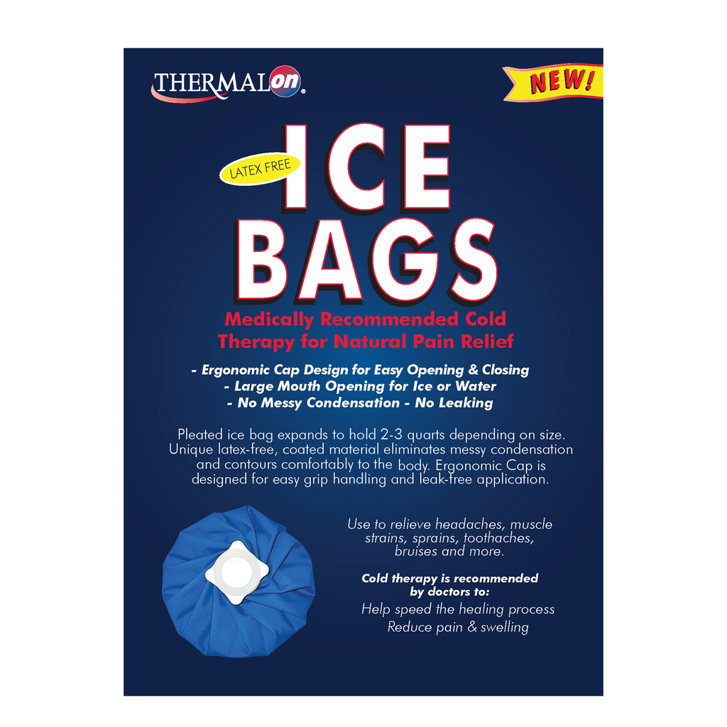 Thermalon Ice Bag for natural pain relief.