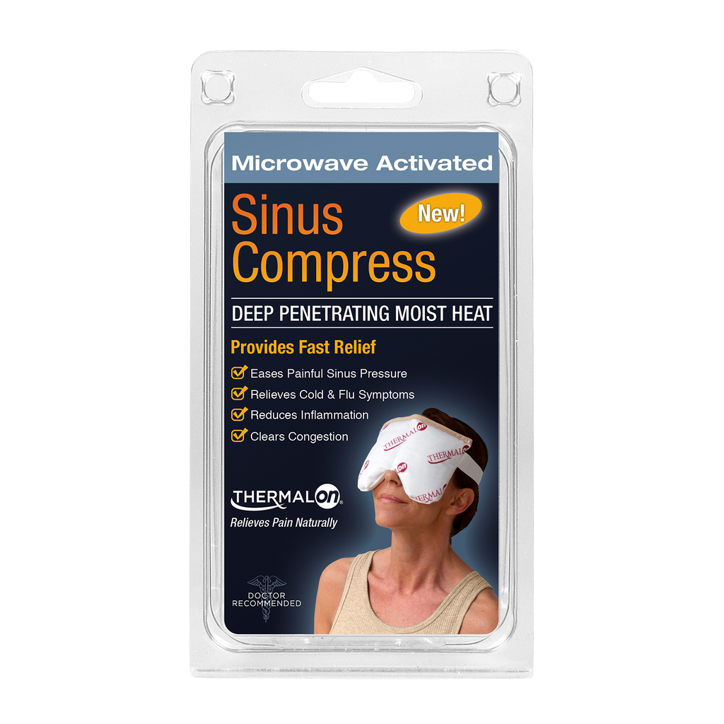 Thermalon Moist Heat/Cold Sinus Pain Relief Compress