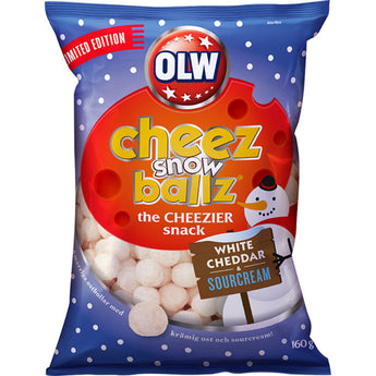Cheez snowballz white cheddar & sourcream, OLW