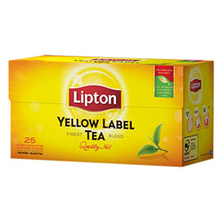 Te Yellow label, Lipton