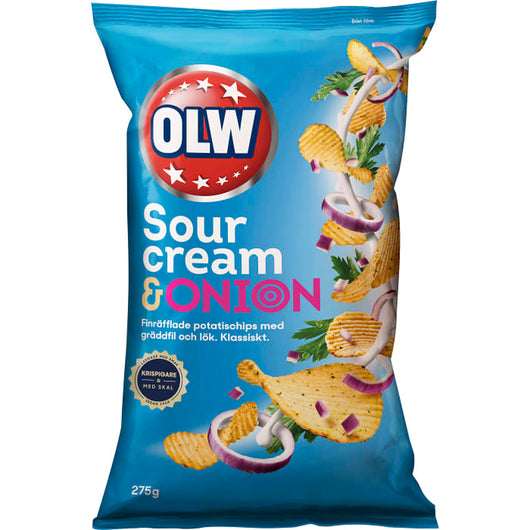 Chips sourcream & onion, OLW