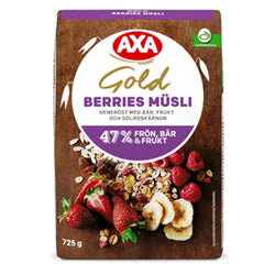 Müsli gold berries, Axa