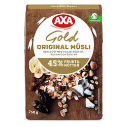 Müsli gold original, Axa