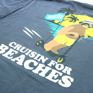 CRUISIN SLOTH SHORT SLEEVE TEE
