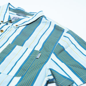VERN STRIPE BUTTON DOWN