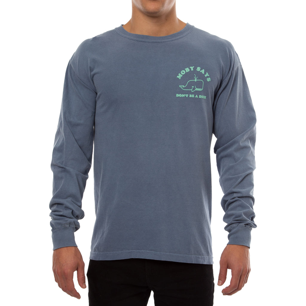 MOBY LONG SLEEVE TEE