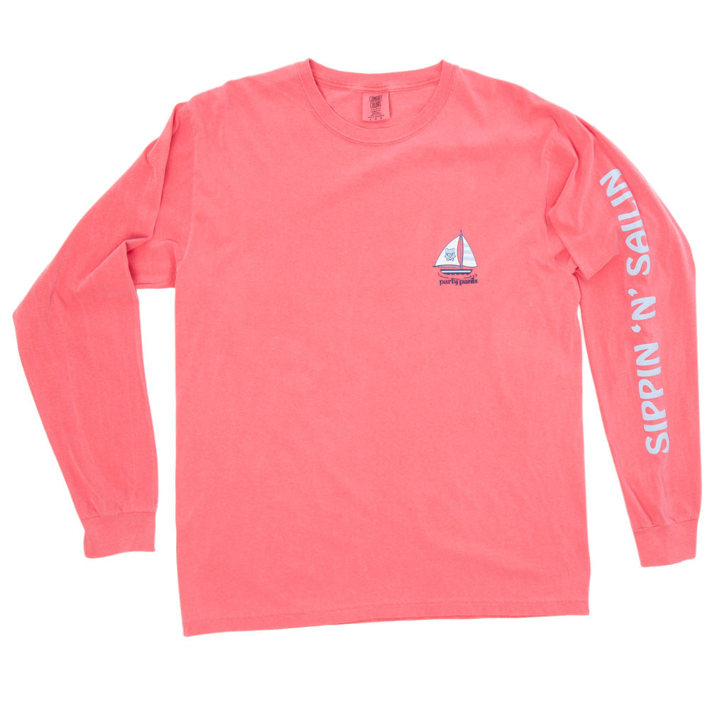 SIPPIN LONG SLEEVE TEE