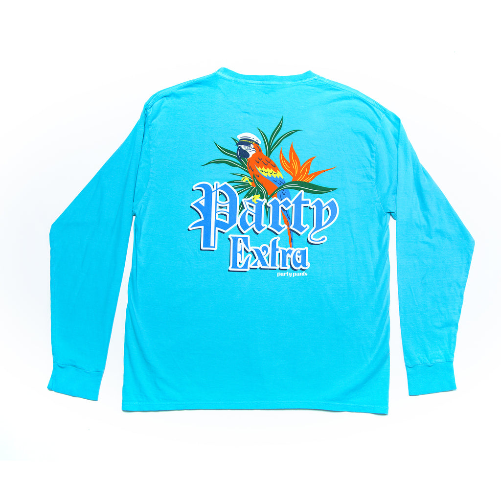PARTY EXTRA LONG SLEEVE TEE