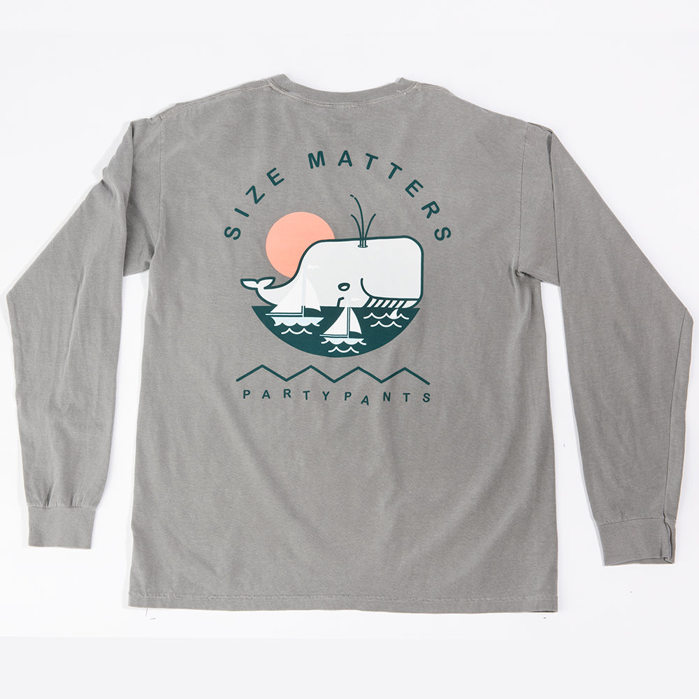 SIZE MATTERS LONG SLEEVE TEE