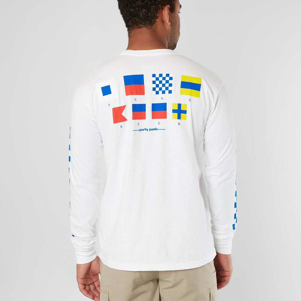 SEND BEER LONG SLEEVE TEE