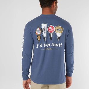 TAPPAROO LONG SLEEVE TEE