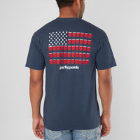 RED, WHITE & BOOZE SHORT SLEEVE TEE