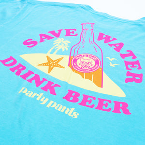 SAVE WATER LONG SLEEVE TEE