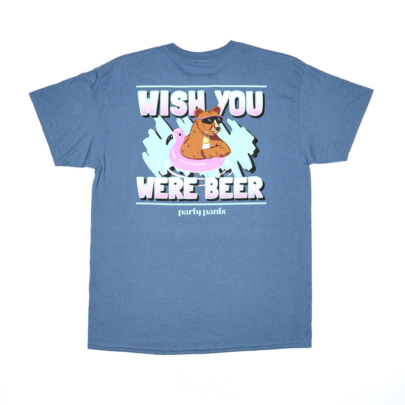 WISH YOU WERE BEER SHORT SLEEVE TEE