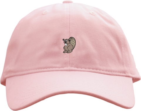 Party Pants USA - Beaver Hat - Pink