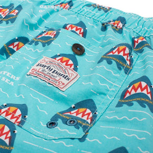 Party Pants USA - Men's Shorts - Gangsters of the Sea Beaver - Back - Zoom