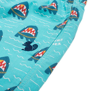 Party Pants USA - Men's Shorts - Gangsters of the Sea Beaver - Logo