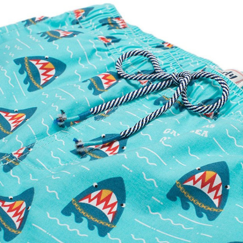 Party Pants USA - Men's Shorts - Gangsters of the Sea Beaver - Front - Zoom