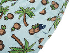 Party Pants USA - Men's Shorts - Treez Beaver - Logo