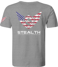 Stealth T-Shirt - American Flag - Stealth Performance Products