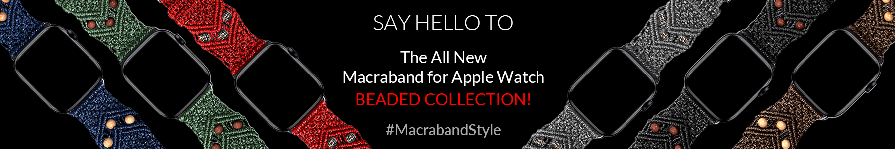 Macraband for Apple Watch 308 Collection