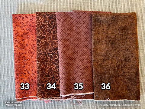 Fabric Swatches 33-36